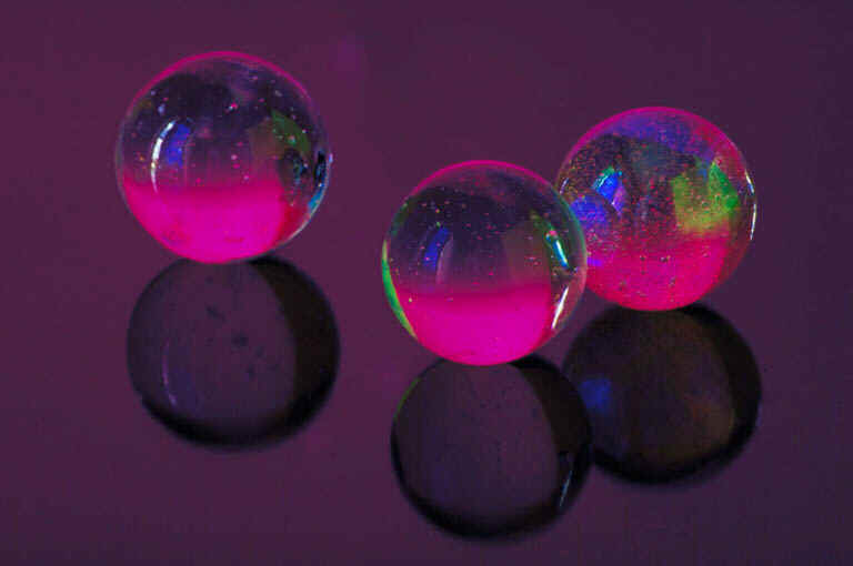 Colorful Neon Marbles
