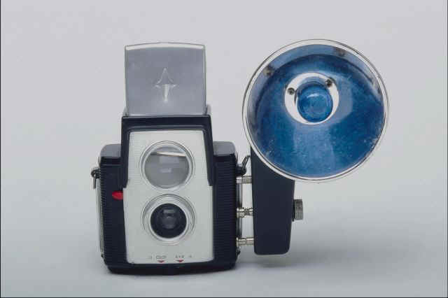 Classic Camera and Flashbulb